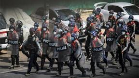 Myanmar: Cảnh sát nổ súng giải tán biểu tình, một người thiệt mạng