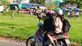 Thú thả diều nguy hiểm ở Sa Đéc: Thả rác, thả cả dây cứa cổ người đi đường