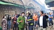 Cháy lớn tại phố Gầm Cầu, Hà Nội