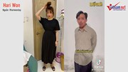 """Hot Trend: Hari Won, Minh Tú hào hứng đổi đồ theo lời """"bố già"""" Trấn Thành"""