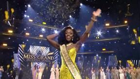 Miss Grand 2020: Hoa hậu Mỹ ngã quỵ lúc đăng quang, Ngọc Thảo lọt top 20