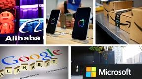 Top 10 'ông lớn' công nghệ hàng đầu thế giới hiện nay