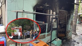 Cháy nhà lúc rạng sáng, 6 người tử vong thương tâm