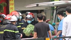 Cháy cửa hàng đồ sơ sinh ở Hà Nội, 4 người tử vong