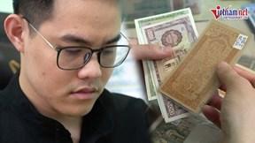 Bộ sưu tập tiền trị giá hơn 10 tỷ của chàng trai 9x nhận kỷ lục Việt Nam
