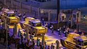 Cairo bừng sáng tháp tùng các xác ướp Pharaoh diễu hành trong đêm