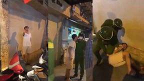 Thanh niên say rượu quỵt tiền taxi, 'cà khịa' cả cảnh sát 113