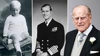 Những hình ảnh cùng cột mốc khó quên trong cuộc đời Hoàng thân Philip