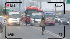 CSGT bí mật ghi hình nhà xe đón trả khách dọc đường