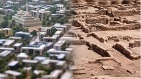 """Mục sở thị thành phố """"vàng"""" 3.400 năm tuổi mới được khai quật ở Ai Cập"""
