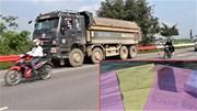 Một xe tải bị lập 4 biên bản cùng 1 lỗi vẫn tái phạm