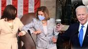 Khoảnh khắc lịch sử chưa từng có khi TT Mỹ phát biểu trước Quốc hội