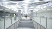 Cận cảnh tầng B1 ga Ba Son tuyến Metro số 1 hoàn thành trước kế hoạch