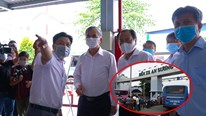 Bến xe An Sương thiếu khai báo y tế khi bị kiểm tra phòng chống Covid