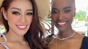 Miss Universe ngày 4: Khánh Vân đọ sắc đương kim Hoa hậu Hoàn vũ