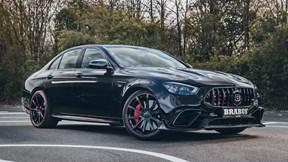 Cận cảnh chiếc Mercedes-AMG E 63 mạnh 800 mã lực