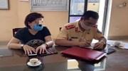 Phạt 16-18 triệu đồng nữ tài xế lùi xe trên cao tốc Hà Nội - Thái Nguyên