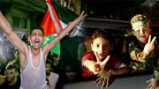 Người dân dải Gaza đổ ra đường, reo vui mừng lệnh ngừng bắn