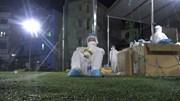 Tâm sự của 'chiến sĩ áo trắng' lấy mẫu xét nghiệm xuyên đêm ở Bắc Giang