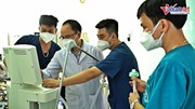 4 ngày thần tốc dựng khu hồi sức tích cực lớn nhất ở tâm dịch Bắc Giang