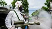TP.HCM: Xe đặc chủng quân đội phun khử khuẩn toàn quận Gò Vấp