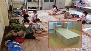 1.000 giường carton đến vùng dịch, mong em bé Điện Biên thôi phải nằm đất