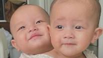 Cặp sinh đôi nhà Hà Hồ, Kim Lý cười tít mắt khi nghe bố hát dân ca