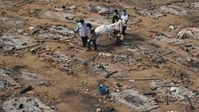 Covid-19: Ấn Độ lại phá kỷ lục thế giới về số ca tử vong