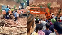 Yên Bái: Sạt lở đất ở huyện Văn Chấn khiến một phụ nữ tử vong