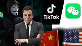 Anonymous tuyên chiến Elon Musk, Mỹ rút lệnh cấm TikTok, WeChat