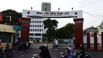 TP.HCM: 22 nhân viên Bệnh viện Bệnh Nhiệt đới dương tính nCoV