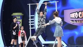 Đang mặc váy, Hari Won nằng nặc đòi mượn quần Trấn Thành để nhào lộn