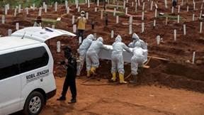 Covid-19: Brazil vượt Ấn Độ, Indonesia không kịp xử lý xác bệnh nhân