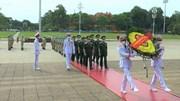 BV dã chiến cấp 2.2 và các sỹ quan Gìn giữ Hoà bình báo công dâng Bác