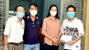 NSƯT Trịnh Kim Chi hỗ trợ cho 180 công nhân hậu đài sân khấu ở TP.HCM
