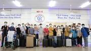 Đội chi viện số 1 Bệnh viện Chợ Rẫy hỗ trợ điều trị Covid-19 tại Cần Giờ