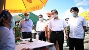 Chủ tịch Chu Ngọc Anh kiểm tra hoạt động giám sát người, phương tiện vào HN