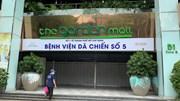 Cấp tốc hoàn thiện Bệnh viện dã chiến 1000 giường ở Thuận Kiều Plaza