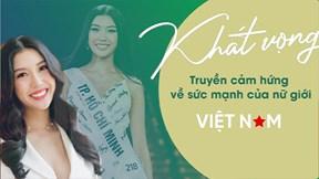 Á hậu Thúy Vân lọt top 10 nhân vật truyền cảm hứng của VTV