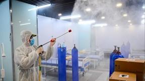 Bệnh viện dã chiến số 5 gần 30000 m2 ở Thuận Kiều Plaza đã sẵn sàng