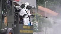 Quân đội phun khử khuẩn toàn địa bàn TP.HCM trong 7 ngày từ 23/7