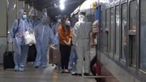 Chuyến tàu miễn phí đưa 720 người dân Hà Tĩnh rời TP.HCM về quê