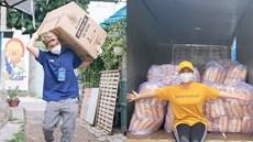 Sao Việt liên tục tham gia tình nguyện, hỗ trợ y bác sĩ, dân nghèo khó khăn