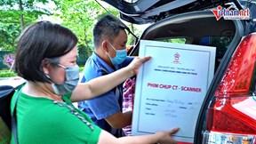 Những chuyến xe yêu thương: Gần 100 ô tô thay nhau chở bệnh nhân miễn phí