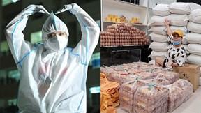 Việt Hương, Đại Nghĩa, Phương Thanh làm từ thiện hết mình mùa dịch