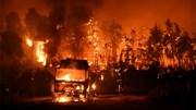 """Cuộc chiến với lửa căng thẳng, cháy rừng """"xé đôi"""" đảo Hy Lạp"""
