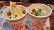 Kem vị mỳ ăn liền của Nhật Bản gây sốc cho thực khách