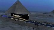 """Xem Ai Cập di chuyển thuyền khổng lồ của """"cõi âm"""" về thế giới đương đại"""