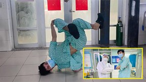 F0 bất ngờ nổi tiếng vì nhảy hiphop trong bệnh viện điều trị Covid