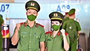 Học viện An ninh xuất quân tăng cường vào miền Nam chống dịch
